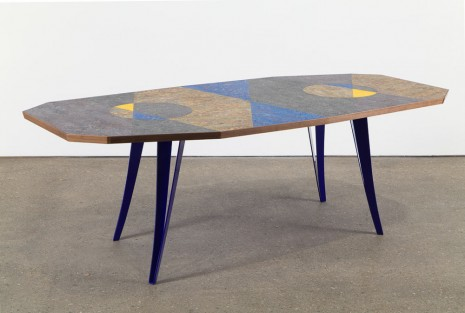 Martino Gamper, Lazy Susan Dining Table, 2015, Anton Kern Gallery