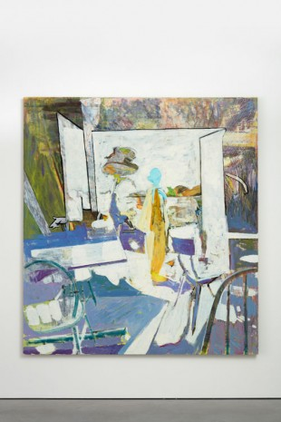 Tim Stoner, Interior, 2015, Modern Art