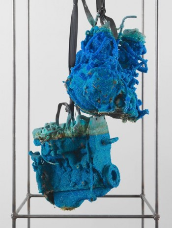 Roger Hiorns, Untitled (detail), 2013, Luhring Augustine
