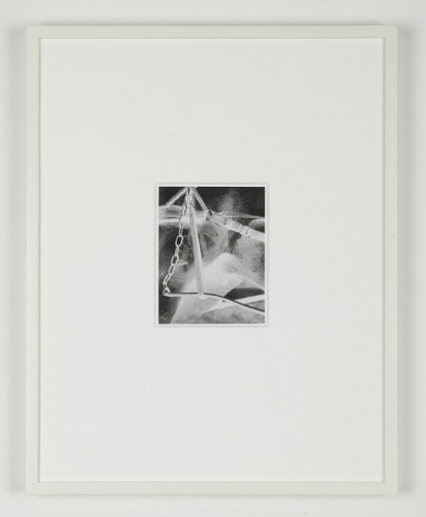 Simon Martin, Untitled. Negative (After Alfred Stieglitz), 2011, Herald St