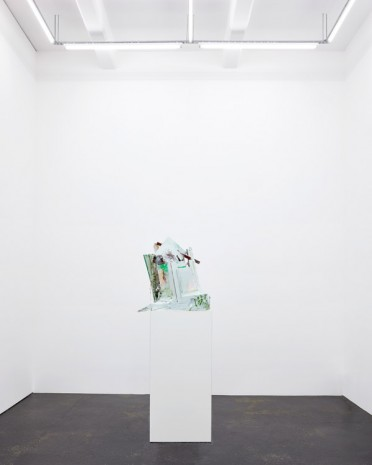 Jan De Cock, Abstract Capitalism with Forest, 2016, Office Baroque
