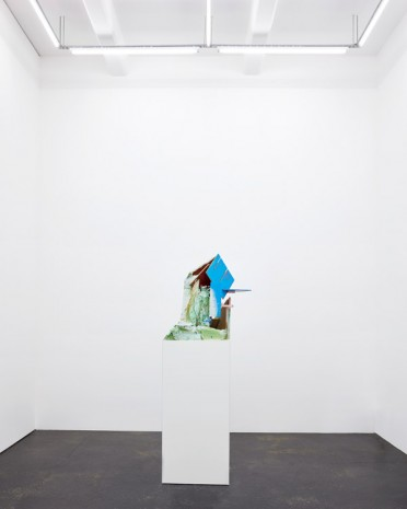 Jan De Cock, Abstract Capitalism with Ruin, 2016, Office Baroque