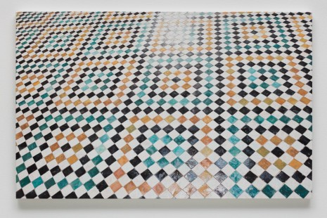 Toba Khedoori, Untitled (tile), 2014, Regen Projects