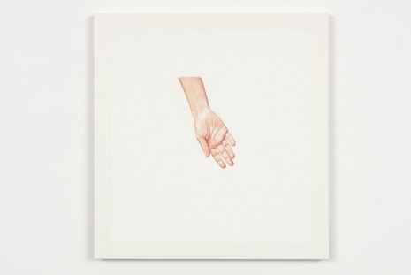 Toba Khedoori, Untitled (hand II), 2013-14, Regen Projects