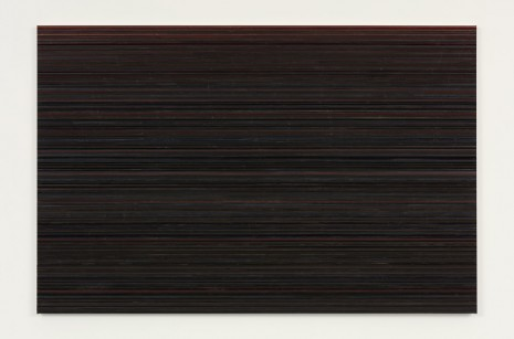 Toba Khedoori, Untitled (stripes), 2014-15, Regen Projects