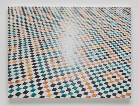 Toba Khedoori, Untitled (tile II), 2014-15, Regen Projects