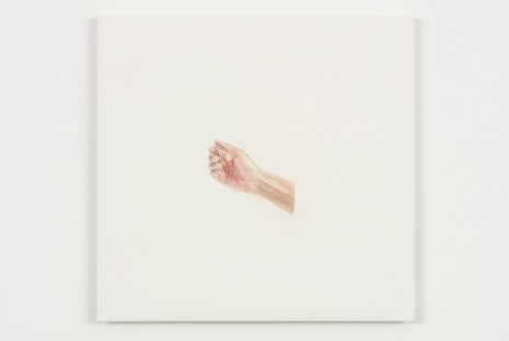 Toba Khedoori, Untitled (hand III), 2013-14, Regen Projects