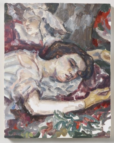 Elizabeth Peyton, Two women (after Courbet), 2015, Sadie Coles HQ