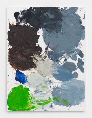 Ann Craven, Untitled (Palette, Hello, Hello, Hello, Black, 9-18-13), 2013, 2013, Maccarone