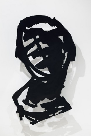 William Kentridge, Head (Brushwork I), 2015, Marian Goodman Gallery