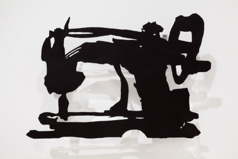 William Kentridge, Small Silhouette 30, 2014/2015, Marian Goodman Gallery