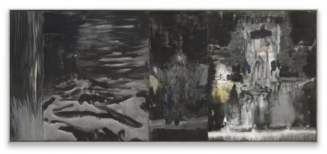 Markus Bacher, come river black ocean, 2015, Contemporary Fine Arts - CFA