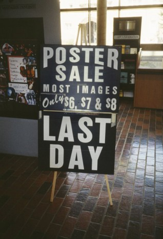 Christian Jankowski, Poster Sale, 2002, Contemporary Fine Arts - CFA