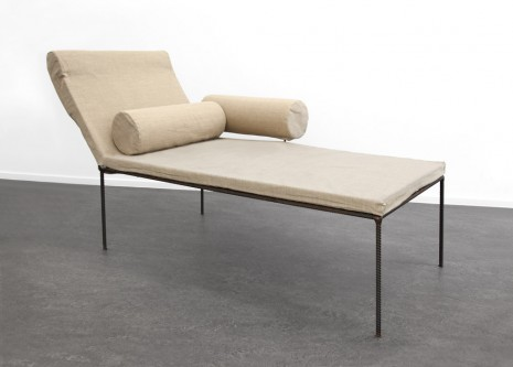 Franz West, Chaiselongue, First produced 1992 Multiple 2015 onwards, Tim Van Laere Gallery