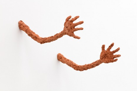 Judith Hopf, Untitled (Pair of Arms), 2015, kaufmann repetto