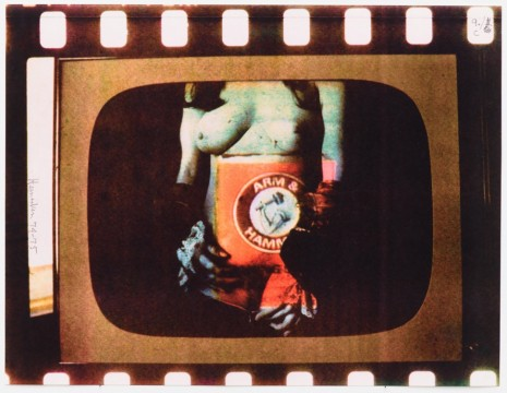 Robert Heinecken, Daytime T.V. Fantasy/Arm and Hammer, 1974-75, Petzel Gallery