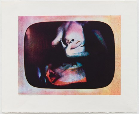 Robert Heinecken, Daytime Color TV Fantasy/ET-CA, 1976, Petzel Gallery