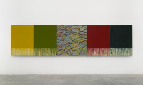 Brice Marden, Uphill with Center, 2012-2015, Matthew Marks Gallery