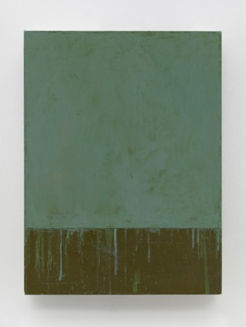 Brice Marden, Grey Square, 2015, Matthew Marks Gallery