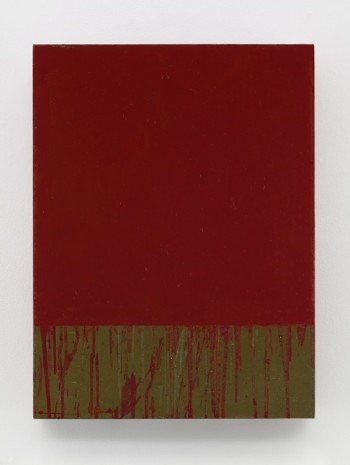 Brice Marden, Red Square, 2015, Matthew Marks Gallery