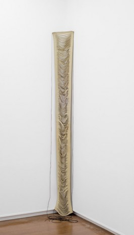 Leonor Antunes, folded back against the pillars, 2008, Mary Mary