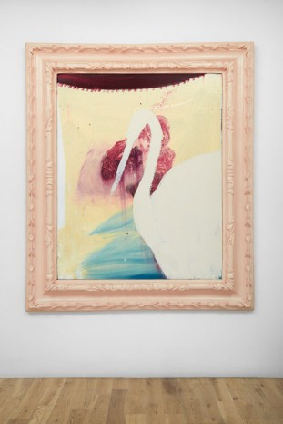 Julian Schnabel, Untitled (Swan Painting), 1998, Almine Rech