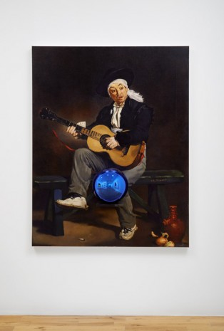 Jeff Koons, Gazing Ball (Manet Spanish Singer), 2014 - 2015, Almine Rech