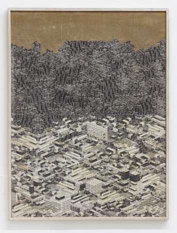 Thomas Bayrle, Stadt am Wald, 1982, Gavin Brown's enterprise