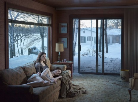 Gregory Crewdson, Mother and Daughter, 2014, Gagosian