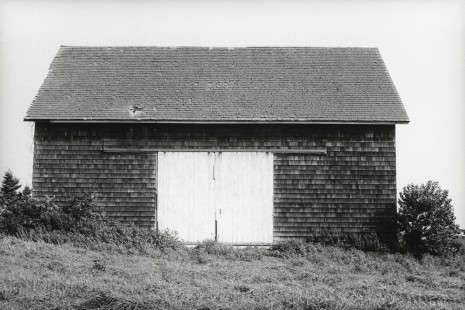 Ellsworth Kelly, Barn, Long Island, 1968, Matthew Marks Gallery