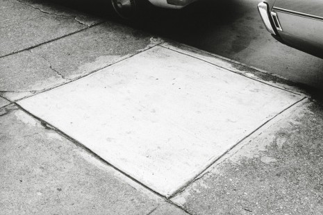 Ellsworth Kelly, Sidewalk, New York City, 1970, Matthew Marks Gallery