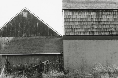 Ellsworth Kelly, Barns, Long Island, 1968, Matthew Marks Gallery