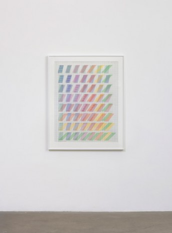 Channa Horwitz, 8 Sets of Moires (Rhythm of Lines Sampler), 1987, Ghebaly Gallery
