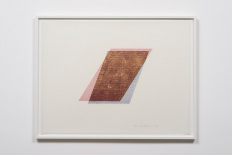 Channa Horwitz, Rhythm of Lines 3-5, 1988, Ghebaly Gallery