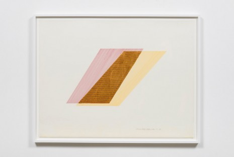 Channa Horwitz, Rhythm of Lines 7-5, 1988, Ghebaly Gallery