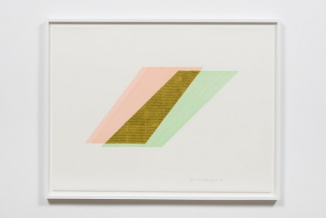 Channa Horwitz, Rhythm of Lines 8-6, 1988, Ghebaly Gallery