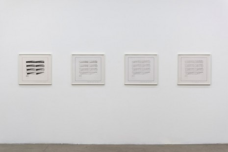Channa Horwitz, Four Levels To the Top, 1974 - 1977, Ghebaly Gallery