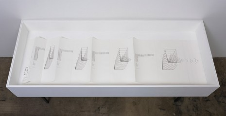 "Channa Horwitz, Book ""8"" ""Suite 8"" ""Eight"", 1979, Ghebaly Gallery"
