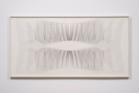 Channa Horwitz, Eight Part Fugue #1, 1981, Ghebaly Gallery