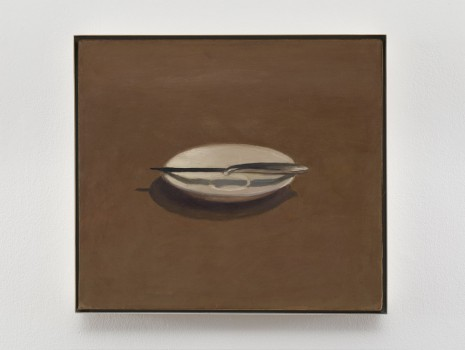 Vija Celmins, Untitled (Knife and Dish), 1964, Matthew Marks Gallery