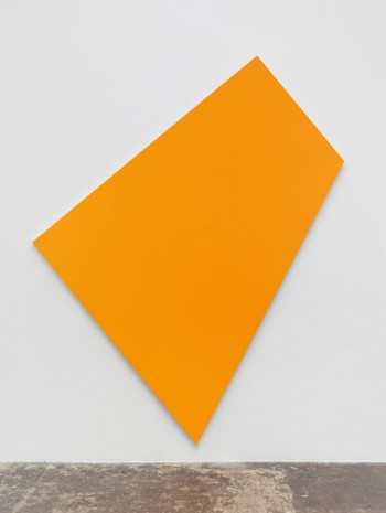 Ellsworth Kelly, Orange Panel, 1980, Matthew Marks Gallery