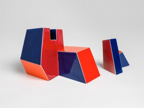 Ken Price, Untitled (Two Part Geometric), 1979, Matthew Marks Gallery