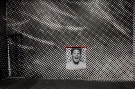 JR, Inside Out Project Photobooht, 2011, Perrotin