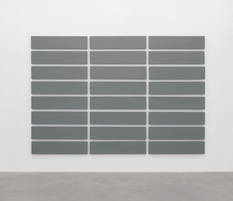 Alan Charlton, 24 Horizontal parts, 2010, A arte Invernizzi