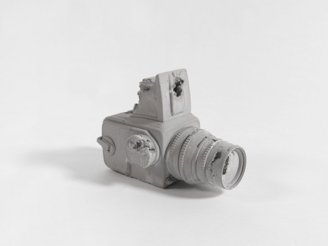 Daniel Arsham, Selenite Eroded Hasselblad Camera, 2016, Nanzuka