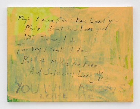 Tracey Emin, Another love story, 2011-2015, Lehmann Maupin