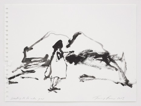 Tracey Emin, Wanting to be with you, 2015, Lehmann Maupin
