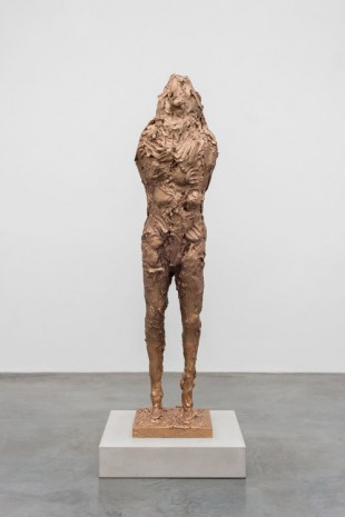 David Altmejd, Figure s'inclinant vers l'avant le plus possible, 2016, Xavier Hufkens