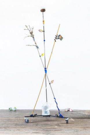 Carson Fisk-Vittori, Weather pollination techniques: out of human visible range, 2016, monCHÉRI