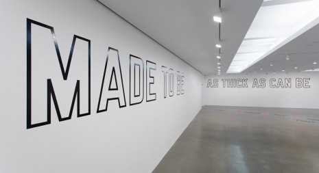 Lawrence Weiner Regen Projects